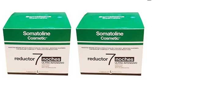-Duplo 2 X Somatoline Reductor 7 Noches ultra intensivo 450 Ml (Edición 2018)