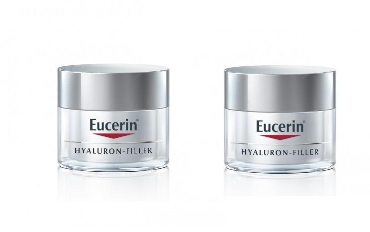 -Eucerin Hyaluron Filler Crema día Pieles Secas DUPLO 50 + 50 ML