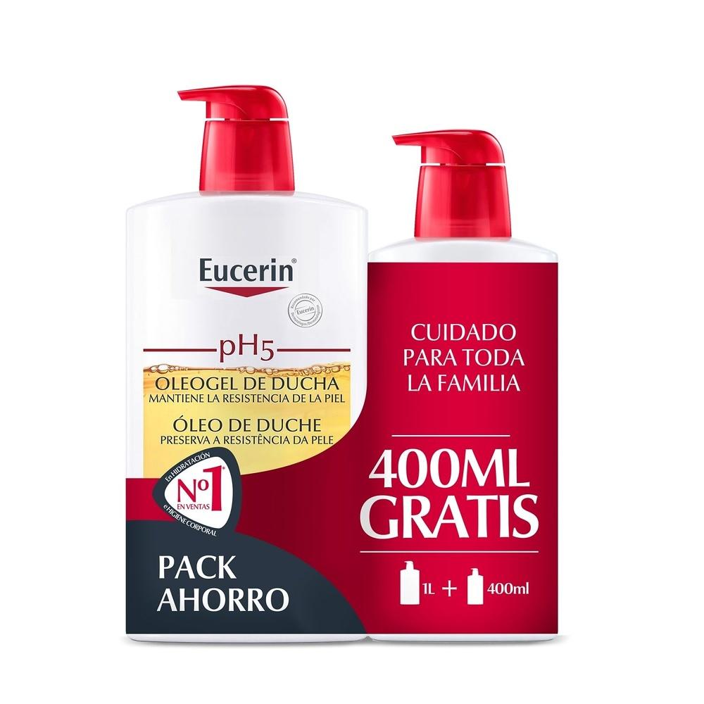 -Eucerin ph5 Oleogel Ducha 1000 ml + 400 ml Gratis