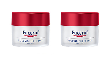 Eucerin Volume Filler Día Piel Seca DUPLO 50 + 50ml