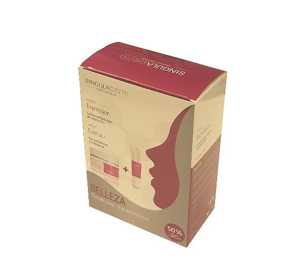 - Pack Singuladerm Xpert Expression 50ml+ Xpert Contour 30ml