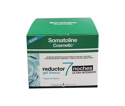 -Somatoline reductor 7 noches gel fresco fragancia marina 400ml