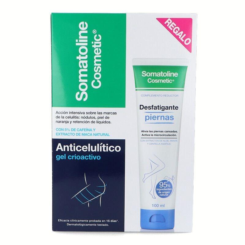 -Somatoline Tratamiento De Choque (7 Noches 450 ml + Celulitis Resistente 150 ml)