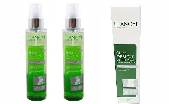 5- Elancyl slim desing aceite anticelulítico 2 en 1: celulitis y estrias 150ml