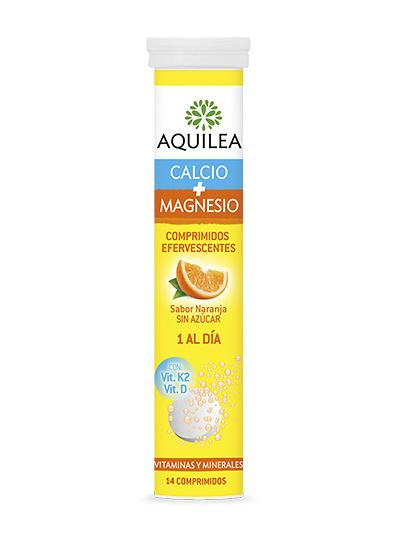 Aquilea Calcio + Magnesio 14 Comp efervescentes