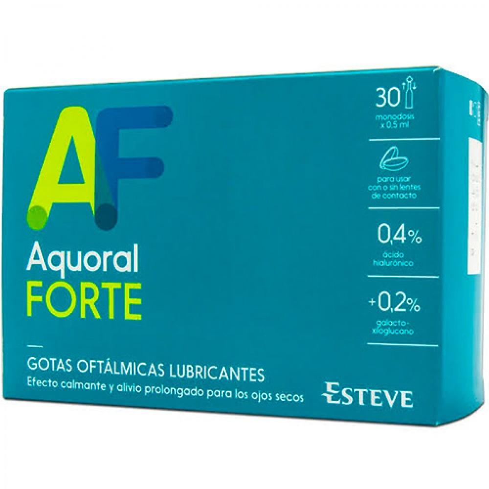 Aquoral Forte Gotas oftálmicas 0.5ml 30 monodosis