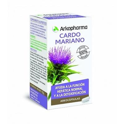 Arkocápsulas Cardo mariano 100 cápsulas