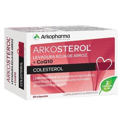 Arkosterol levadura roja de arroz + CoQ10 60 cap