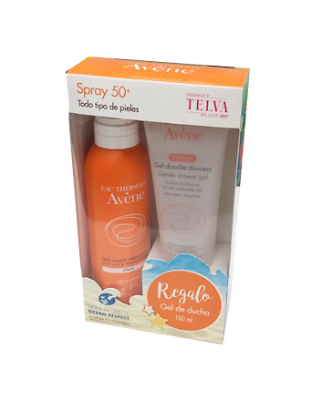 Avene Solar Spray Alta Prot. Spf 50+ 200 Ml + regalo Gel de Ducha 100 Ml