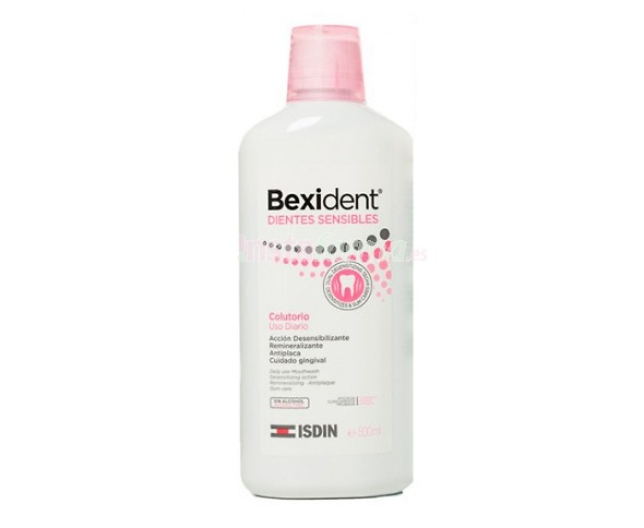 Bexident Dientes Sensibles Enjuague Bucal 500 ml