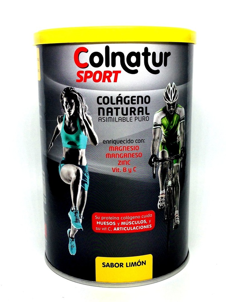Colnatur sport colágeno natural sabor limon 345g