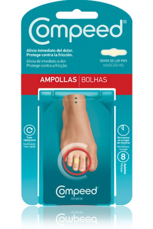 Compeed Ampollas dedos de los pies 8 apósitos