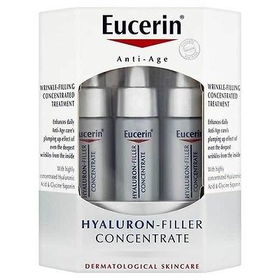 Eucerin Hyaluron Filler concentrado 6 ampollas (5 + 1 de regalo) de 5ml