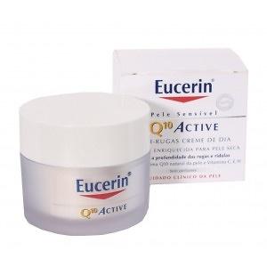 Eucerin Q10 Active Crema Antiarrugas Día Piel Seca 50 ml