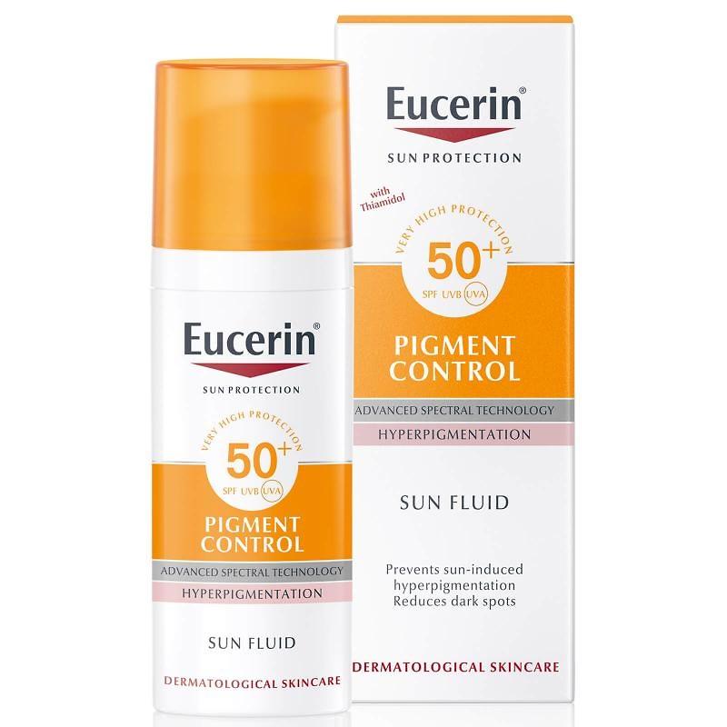 Eucerin sun protection fluido pigment control SPF50+ 50ml