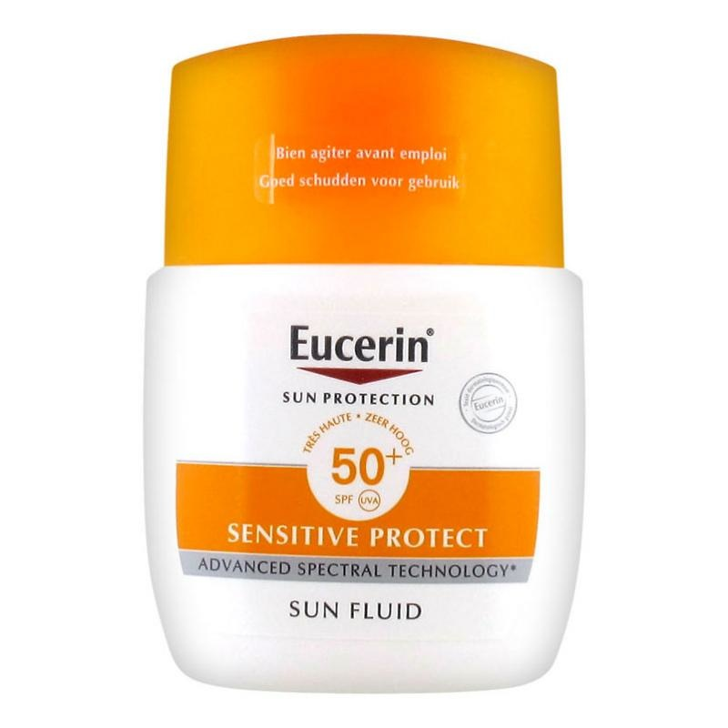 Eucerin sun protection sensitive fluido matificante SPF50+, 50ml