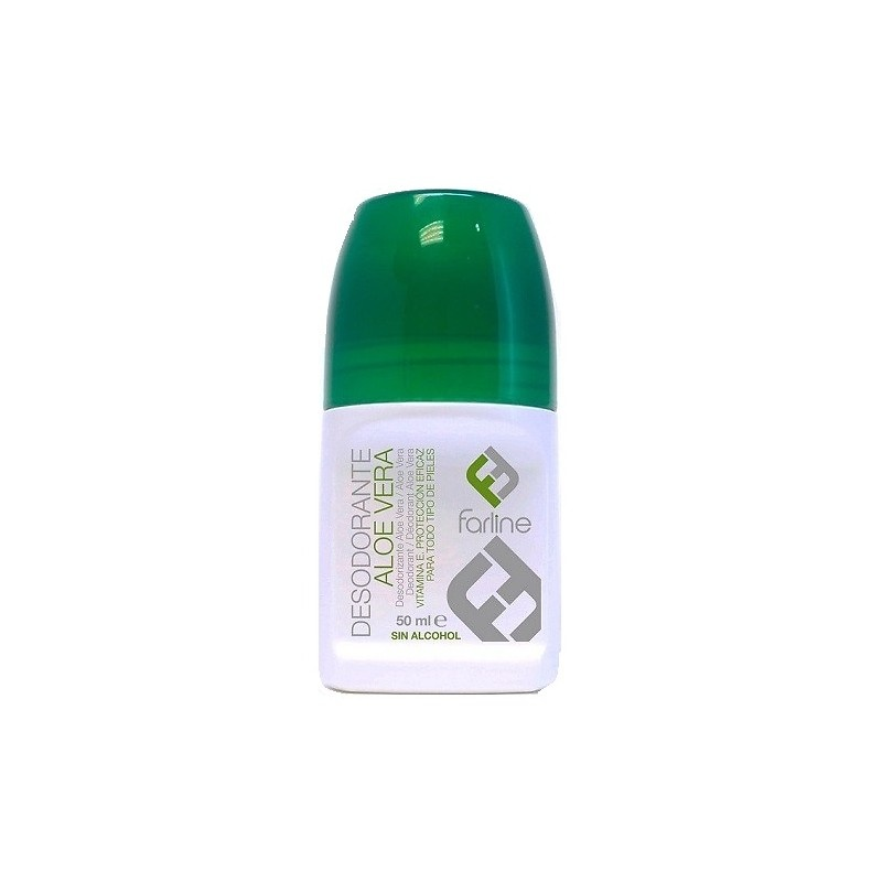 Farline desodorante aloe vera roll-on 50ml
