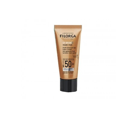 Filorga UV-Bronze Fluido solar facial antiedad SPF50+ 40ml