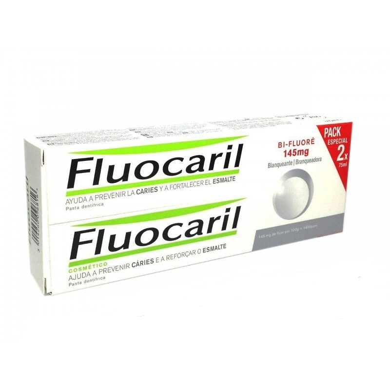 Fluocaril blanqueante duplo 2 x 75ml