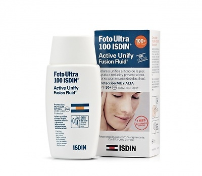 FotoUltra spf100+ Isdin active unify fusion fluid 50ml