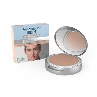 Fotoprotector isdin spf50 compacto arena 10g