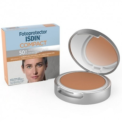 Fotoprotector isdin spf50 compacto bronce 10g
