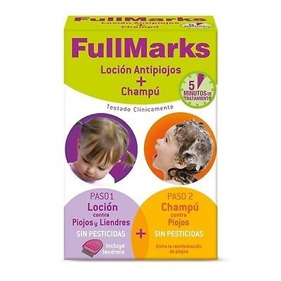 Fullmarks Kit antipiojos loción 100ml + champú 150ml
