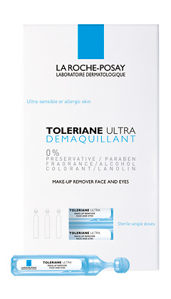 La Roche Posay Toleriane desmaquillante de ojos 5ml x 30 monodosis