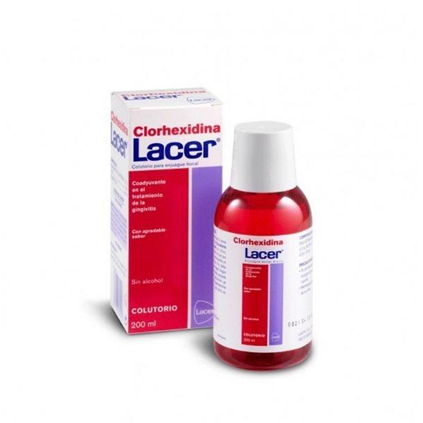 Lacer Enjuague Bucal Clorhexidina 200 Ml