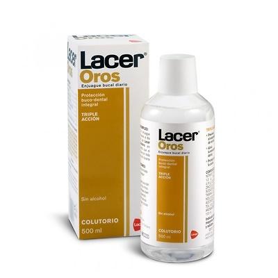 Lacer Oros Enjuague Bucal 500 Ml