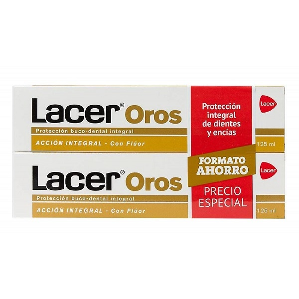 Duplo Lacer Oros pasta dentífrica 125ml