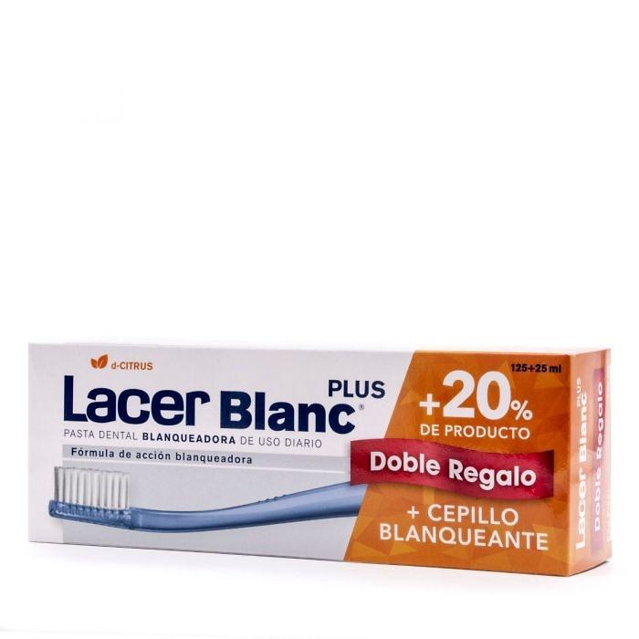 Lacerblanc Plus sabor citrus 125ml + regalo 25 ml y cepillo blanqueante