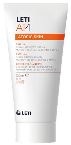 LetiAT4 crema facial barrera multiprotectora piel atópica y seca 50ml