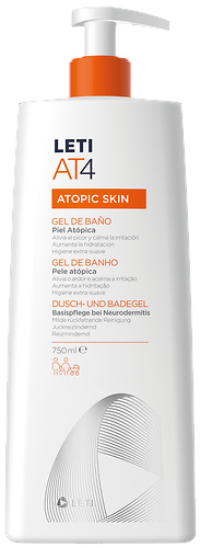 LetiAt4 Atopic skin gel de baño 250ml