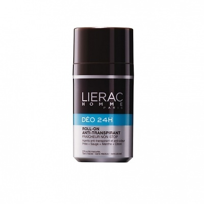 Lierac Homme desodorante 24h roll-on 50ml