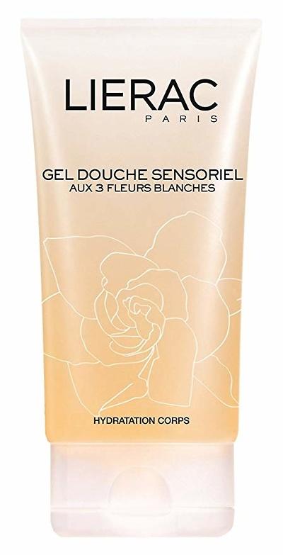 Lierac Sensoriel gel de ducha a las 3 flores blancas 150ml