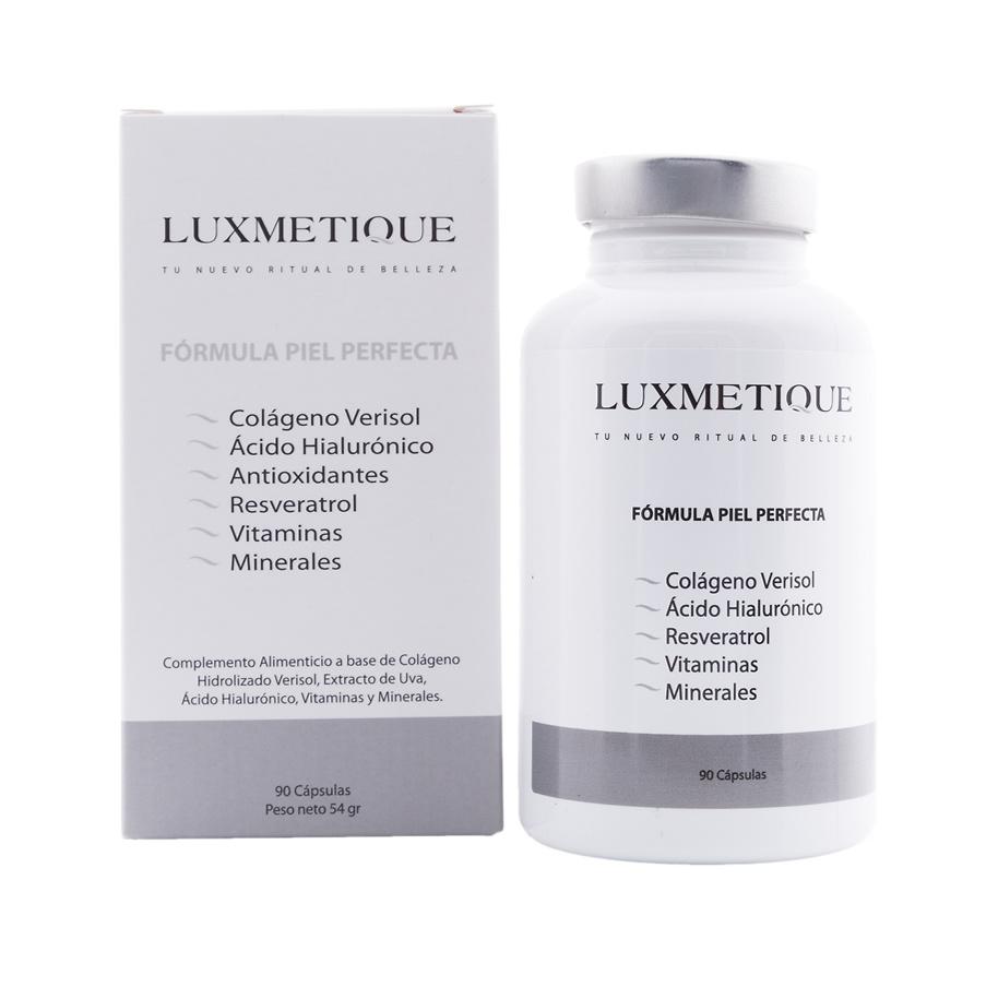 Luxmetique Fórmula piel perfecta 90 cápsulas