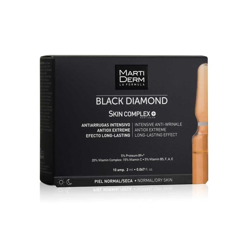 Martiderm Black diamond Skin complex 10 ampollas de 2ml