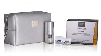 Martiderm Platinum Photo-age 30 ampollas + Expression gel 15ml + REGALO neceser con minitallas