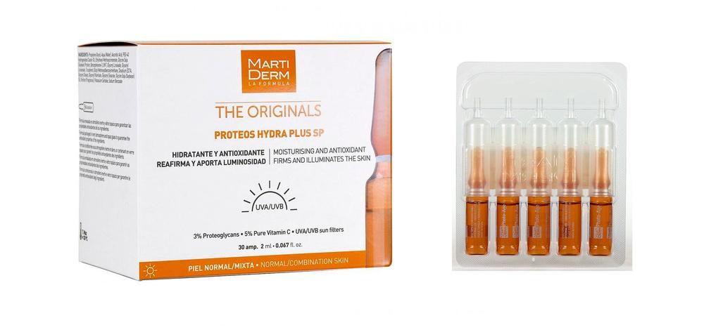 Martiderm Proteos Hydra Plus SP (Proteoglicanos FPS) 30 ampollas (Pieles normal/mixtas)