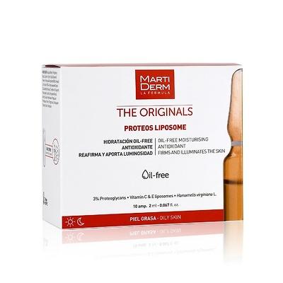 Martiderm Proteos Liposome (Liposomas) 10 ampollas (Pieles grasas)