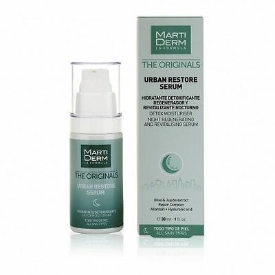 Martiderm Urban restore serum hidratante detoxificante nocturno 30ml