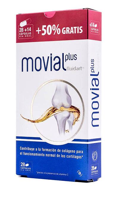 Movial Plus Fluidart 28 Capsulas + 14 de Regalo