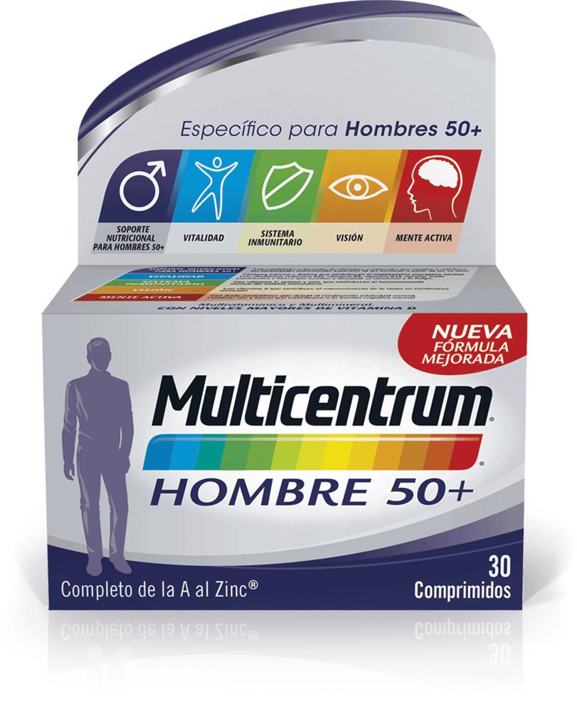 Multicentrum Hombre 50+ (30 comprimidos)