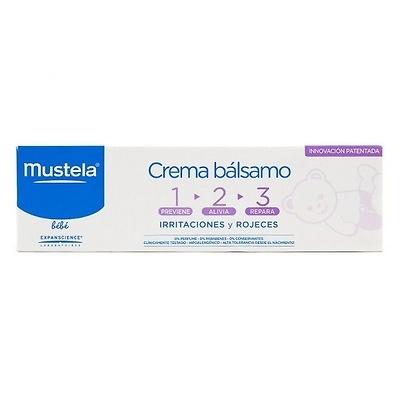Mustela Crema Balsamo 1,2,3, 50 Ml.