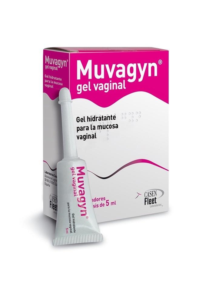 Muvagyn gel hidratante vaginal 8 aplicadores de 5ml