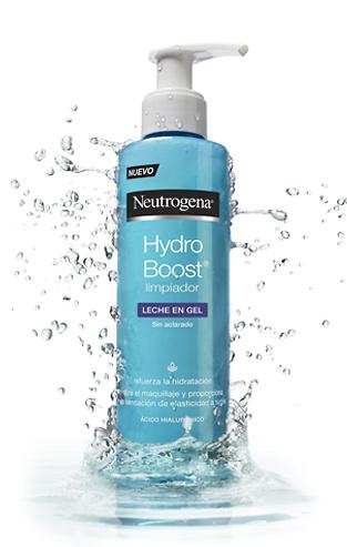 Neutrogena hydro boost limpiador leche en gel 200ml