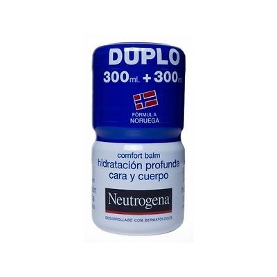 Neutrogena hidratación profunda cara y cuerpo Duplo confort balm 300ml + 300 ml