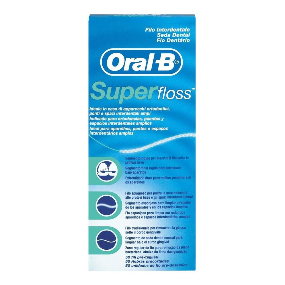 Oral-B Hilo dental super floss 50 unidades