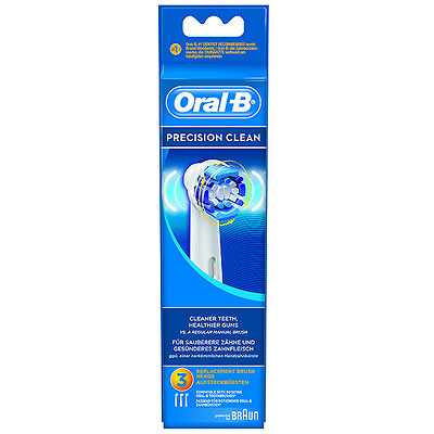 Oral-B Recambio cepillo eléctrico precision clean 3 unidades